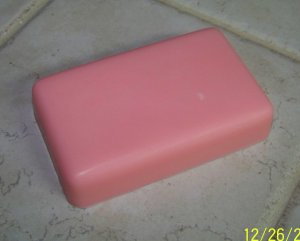 3 Handmade Peppermint Scented Goats Milk Soaps
