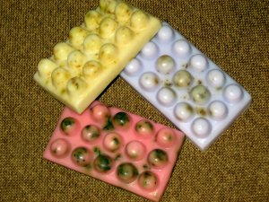 3 Handmade Customized Massage Goats Milk Soaps 2oz each [FREE SHIPPING]