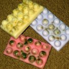 3 Handmade Massage Goats Milk Soaps 2oz each [Floral Scented] FREE SHIPPING