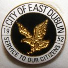 City of East Dublin Georgia Lapel Hat Pin