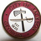 City of Jackson Georgia Lapel Hat Pin