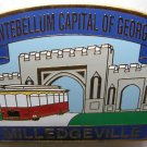 City of Milledgeville Georgia Lapel Hat Pin