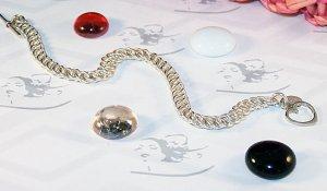 """DRAGON'S TAIL"" .925 Sterling Silver Bracelet - FREE SHIPPING!"