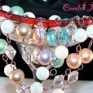 """SENSATIONAL"" Vintage Bead, Crystal & Pearl Necklace - FREE SHIPPING!"