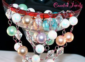 """""""SENSATIONAL"""" Vintage Bead, Crystal & Pearl Necklace - FREE SHIPPING!"""