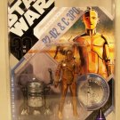 R2-D2 & C-3PO McQuarrie Concept Figures Star Wars Celebration IV MOC Toys for Collectors