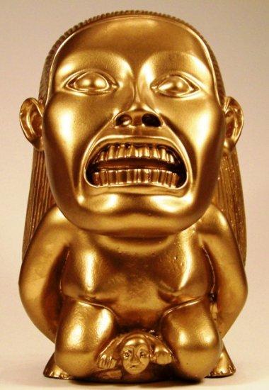 SOLD OUT  Indiana Jones Gold Fertility Idol Replica Movie Prop PLUS Bonus Was $200 Now $150