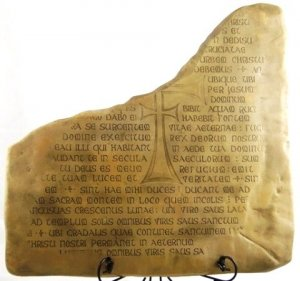 SOLD OUT Indiana Jones Replica Movie Prop Full Sized Last Crusade Holy Grail Stone Tablet