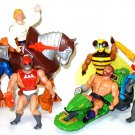 Vintage HE MAN Masters of the Universe MOTU Stridor Mekaneck Zodac Strato Buzz Off Fisto +  MORE