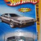 Hot Wheels Delorean 2010 New Models Series NEW IN PACKAGE
