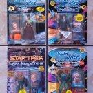 Star Trek Action Figure Lot of 4 Including Dixon Hill, Lwaxana Troi, Quark, Dathon