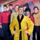 Star Trek Bathrobe Kirk Embroidered Gold Robe
