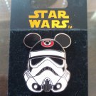 Disney Star Wars Stormtrooper Helmet Pin with Mickey Mouse Ears First Release FREE SHIPPING