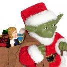 Star Wars Santa Yoda Christmas Statue Hand Crafted Fabriche
