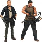 The Walking Dead Dixon Brothers 2 Pack Season 4 Daryl and Merle Action Figures