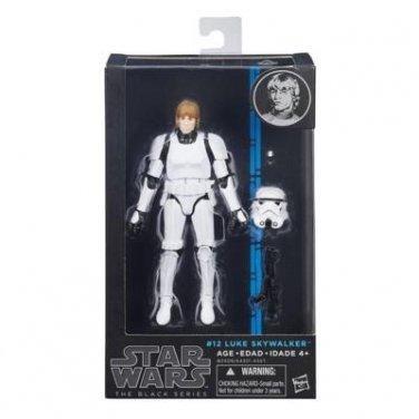 Star Wars The Black Series Luke Skywalker (Stormtrooper Disguise) 6 Inch Figure MIB