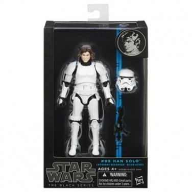 Star Wars The Black Series Han Solo (Stormtrooper Disguise) 6 Inch Figure MIB