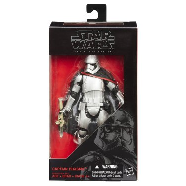Star Wars Episode VII Black Series 6 Inch Captain Phasma MIB