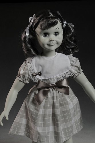 Talky Tina Black and White Doll The Twilight Zone 18 Inch Replica Prop