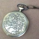 Doctor Who Pocket Watch 10th Doctor Metal Replica Prop