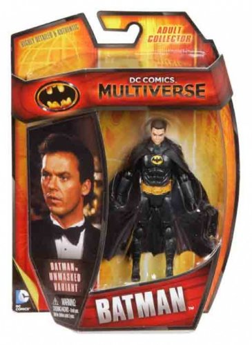 DC Comics Multiverse Unmasked Batman 1989 Movie Action Figure