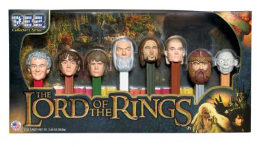 The Lord of the Rings Pez Gift Set Collector Series Limited Edition