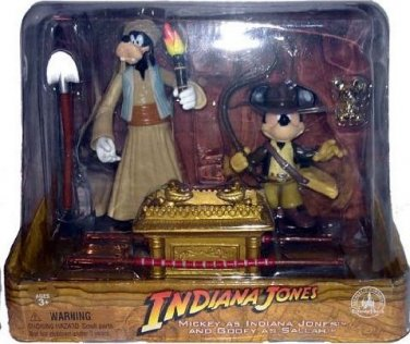 DISNEY PARKS EXCLUSIVE Raiders of the Lost Ark Mickey as Indiana Jones 2 Pack