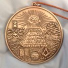 National Treasure Masonic Medallion Replica Movie Prop FREE SHIPPING