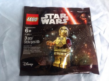 LEGO Star Wars The Force Awakens C-3PO Set #5002948 Promotional Exclusive FREE SHIPPING