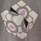 (L) Portal Weighted Rubik's Cube Tee Shirt Adult Size Large