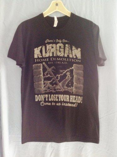 (M) Kurgan Home Demolition Highlander Tee Shirt Adult Size Medium