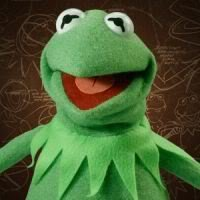 Master Replicas Kermit the Frog Photo Puppet Full Size Replica Prop