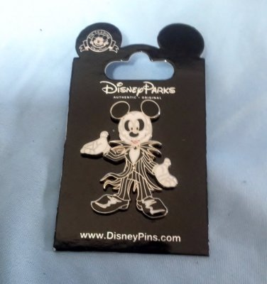 Mickey Nightmare Before Christmas Jack Skellington Coffin Pin FREE SHIPPING