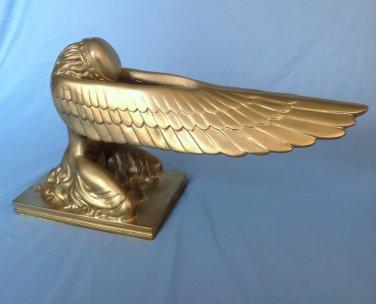 Indiana Jones Ark of the Covenant Golden Cherubs Set of 2 Angels Replica Movie Props