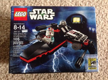STAR WARS LEGO SDCC EXCLUSIVE 2013 SEALED SET MISB JEK-14 MINI STEALTH STARFIGHTER