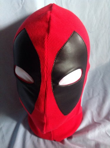 Deluxe Deadpool Costume Mask Adult Size