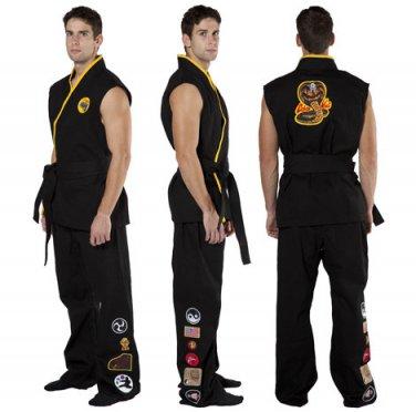Karate Kid Cobra Kai Movie Quality Costume Adult Size Medium/Large