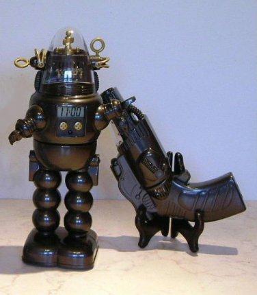 Robby the Robot Alarm Clock Black Version Forbidden Planet