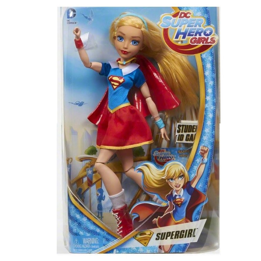 6a001a817782 DC Super Hero Girls Supergirl 12 inch Action Doll