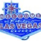 VIVA LAS VEGAS BELT BUCKLE