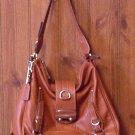 STYLE & CO Handbag Purse Sloutch Tote Pumpkin Rust