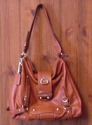 STYLE & CO Handbag Purse Sloutch Tote Pumpkin Rust