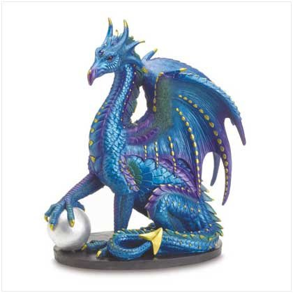 Large Blue Dragon