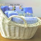 Baby Boy Blue Memory Basket