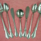 ONEIDA CHATEAU 7pc SERVING DELUXE STAINLESS FLATWARE SILVERWARE