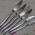 HULL FLORENCE AAA 2 SPREADERS &4 KNIVES STAINLESS STEEL FLATWARE SILVERWARE