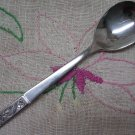 "IMPERIAL NIGHT FLOWER FLOWERS STAINLESS 1 SPOON 6"" FLATWARE SILVERWARE"