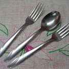 ONEIDA LTD OHS 5 OHS5 3pc STAINLESS FLATWARE SILVERWARE