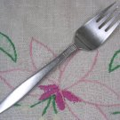 NATIONAL RAFFIA SALAD FORK CUSTOM FORGED STAINLESS FLATWARE SILVERWARE