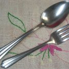 NATIONAL NST 23 NST23 SOUP & SALAD STAINLESS FLATWARE SILVERWARE
